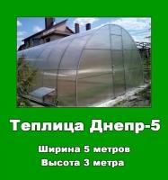 Теплицы Днепр-5 ( ↔5 м; ↕3 м )